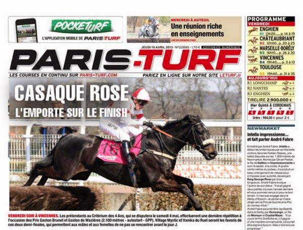 Paris turf courses
